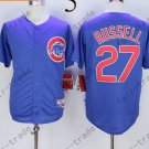 Chicago Cubs #27 Addison Russell Blue 2015 Baseball Jersey Authentic Stitched