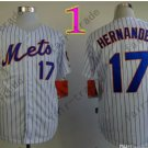 New York Mets Jerseys 17# Keith Hernandez Jersey White Throwback Style 1