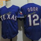 Texas Rangers #12 Rougned Odor 2016 Baseball Jersey Blue Jerseys Authentic Stitched
