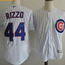 Chicago Cubs 44 Anthony Rizzo White Stitched Jersey Style 1