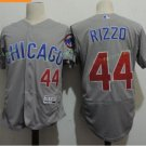Chicago Cubs 44 Anthony Rizzo Grey Stitched Jersey