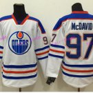 2017 World Cup North America Ice Hockey Jerseys White Edmonton Oiler 97 Connor McDavid Jersey Men