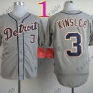 Ian Kinsler Jersey 2014 New Cool Base Grey Detroit Tigers Jerseys