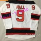 2017 New Devils 9 Taylor Hall Jersey New Style Red White Home Men Ice Hockey Jerseys Fashion