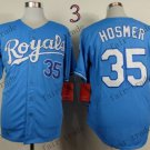 2015 World Series Kansas City Royals 35 Eric Hosmer Baseball Blue Jerseys