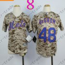 New York Mets Youth Jersey 48 Jacob deGrom Camo Kids