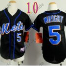 New York Mets Youth Jersey #5 David Wright Black Kids