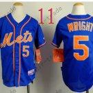 New York Mets Youth Jersey #5 David Wright Blue Kids