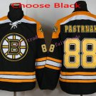 2016 Winter Classic Boston Bruins #88 David Pastrnak Home Black Stitched Pastrnak Ice Hockey Jersey
