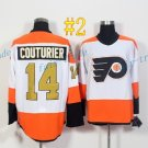 Philadelphia Flyers #14 Sean Couturier 50th Anniversary 2017 Cheap Hockey Jerseys Ice Winter Jersey
