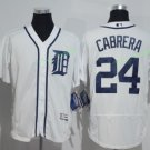 detroit tigers #24 miguel cabrera 2015 Baseball White Jerseys Authentic Stitched Style 3