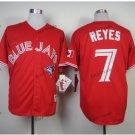 toronto blue jays #7 jose reyes 2016 Baseball Jersey Red Rugby Jerseys Authentic Stitched