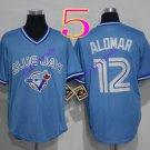 toronto blue jays #12 Roberto Alomar light blue 2016 Baseball Jersey  Rugby Jerseys