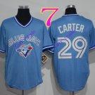toronto blue jays #29 Joe Carter light blue 2016 Baseball Jersey  Rugby Jerseys