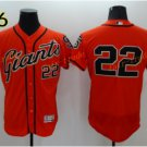 Flexbase 22 Will Clark Jersey Cool Base Vintage Retro San Francisco SF Giants 1989 Red