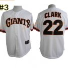 Flexbase 22 Will Clark Jersey Cool Base Vintage Retro San Francisco SF Giants 1989 Grey Style 2