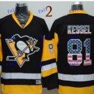 Pittsburgh Penguins #81 Phil Kessel USA Throwback Vintage ICE Hockey Jerseys Heritage Stitched