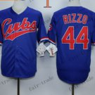 Chicago Cubs 44 Anthony Rizzo Blue 2015 Baseball  Jerseys Authentic Stitched