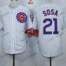 Chicago Cubs #21 sammy sosa White 2015 Baseball  Jerseys Authentic Stitched