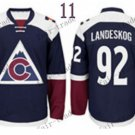 2016 Stadium Series Colorado Avalanche 92 Landeskog Ice Winter Jersey Authentic Stitched