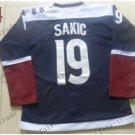 2016 Stadium Series Colorado Avalanche #19 Joe Sakic  Ice Winter Jersey Authentic Stitched