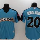 2017 All Star American League 20 Donaldson  blue Run Derby Player Jerseys