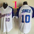 atlanta braves #10 chipper jones 2016 Baseball  Jerseys Authentic Stitched