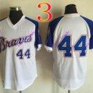 atlanta braves #44 hank aaron 2016 Baseball  Jerseys Authentic Stitched