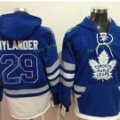 Toronto Maple Leafs hoodie 29 William Nylande Blue 100th 2017 Centennial Classic Jersey