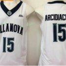 2017 Villanova Wildcats College Basketball Jerseys 15 Ryan Arcidiacono White University Stitched