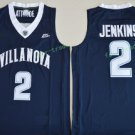 2017 Villanova Wildcats College Basketball Jerseys 2 Kris Jenkins Blue University Stitched