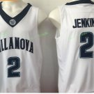2017 Villanova Wildcats College Basketball Jerseys 2 Kris Jenkins White University Stitched