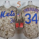 Noah Syndergaard Jersey Cool Base 2015 New York Mets Jerseys Home Away Camo