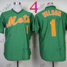 Mookie Wilson Jersey 2015 New York Mets Jerseys Throwback Green