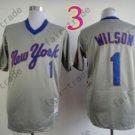 Mookie Wilson Jersey 2015 New York Mets Jerseys Throwback Grey