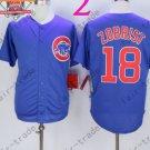 Ben Zobrist Jersey Chicago Cubs 18# Baseball Jersey, Stitched Blue