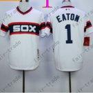 1983 Chicago White Sox Throwback Jersey 1 Adam Eaton  Retro Jersey