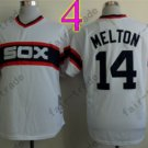 1983 Chicago White Sox Throwback Jersey 14 Paul Konerko Retro Jersey