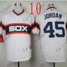 1983 Chicago White Sox Throwback Jersey  #45 Michael Jordan Retro Jersey
