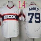 1983 Chicago White Sox Throwback Jersey #79 Jose Abreu Retro Jersey