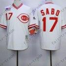 Cincinnati Reds 1990 Chris Sabo Jersey Authentic White Vintage