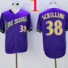 arizona diamondbacks #38 curt schilling 2016 Baseball Jersey