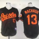 baltimore orioles #13 manny machado Blue 2015 Baseball Jersey Authentic Stitched