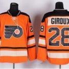 Philadelphia Flyers 2017 Stadium Series Jerseys Hockey #28 Claude Girouxn Orange