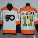 Philadelphia Flyers 2017 Stadium Series Jerseys Hockey 17 Wayne Simmonds White