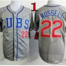 Chicago Cubs #22 Addison Russell Grey 2015 Baseball Jersey Authentic Stitched Style 1