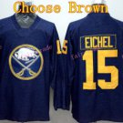 Buffalo Sabres Jersey 15 Jack Eichel Ice Hockey Jerseys Throwback Jerseys