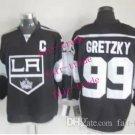 kings #99 wayne gretzky 2015 Ice Winter Jersey Black Hockey Jerseys Authentic Stitched