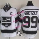 kings #99 wayne gretzky 2015 Ice Winter Jersey White Hockey Jerseys Authentic Stitched