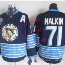 pittsburgh penguins #71 evgeni malkin 2015 Ice Winter Jersey Black Blue Hockey Authentic Stitched